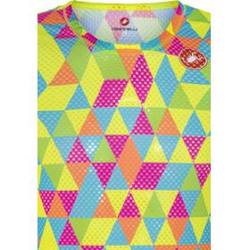 Castelli Pro Mesh Sleeveless Baselayer Jersey Men multicolor fluo
